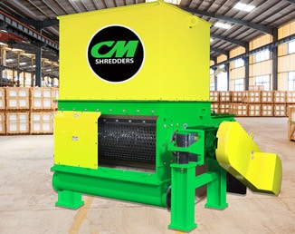 CM SOLO 40_Single Shaft Shredder